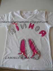 Camiseta Bailarinas para Ainhoa