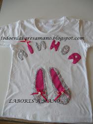 Camiseta Bailarinas para Ainhoa