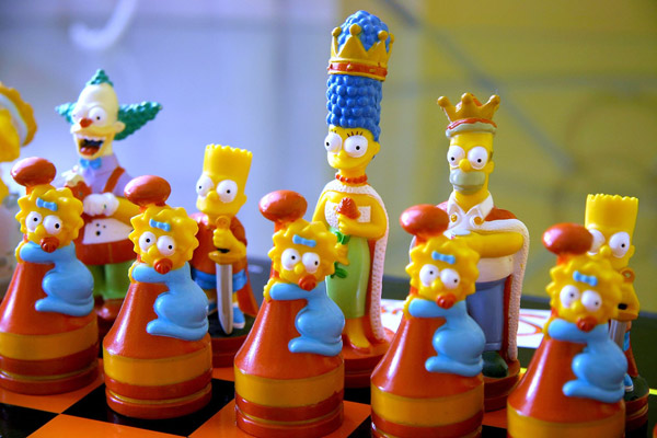 Art-Sci: Creative Cartoon Chess