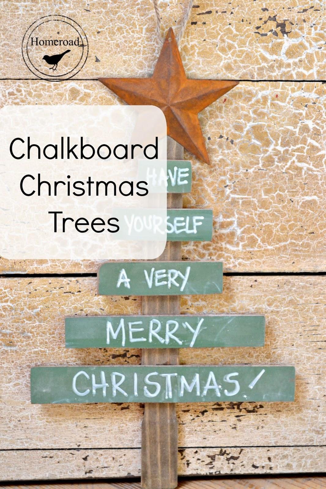 Chalkboard-christmas-trees www.homeroad.net