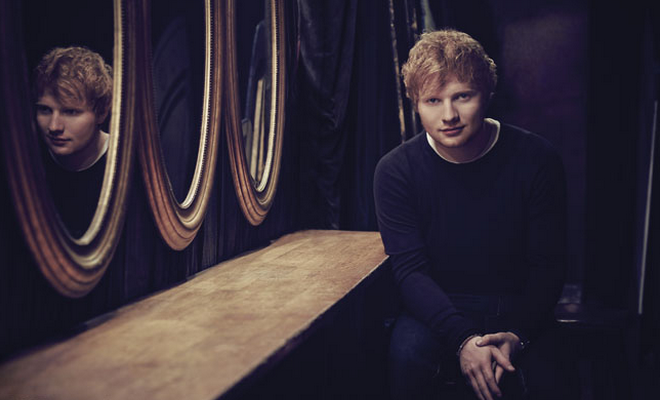 Ed sheeran faz musica para ellie goulding