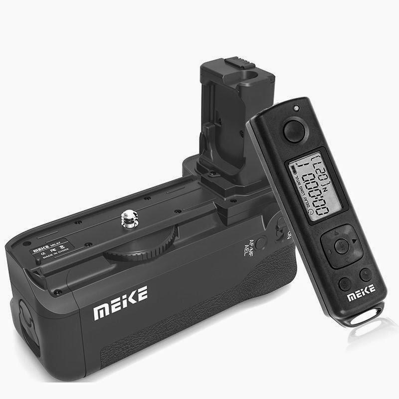 Meike MK-AR7 2.4g Wireless Control Battery Grip for Sony A7 A7r A7s as VG-C1EM