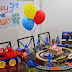 Gian's Choo-choo Train Birthday Party Set…