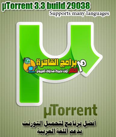 µTorrent 3.3 build 29038