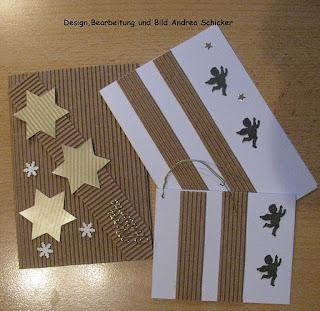 Weihnachtskarten basteln mit kids - Weihnachtskarten selbst basteln anleitung ...