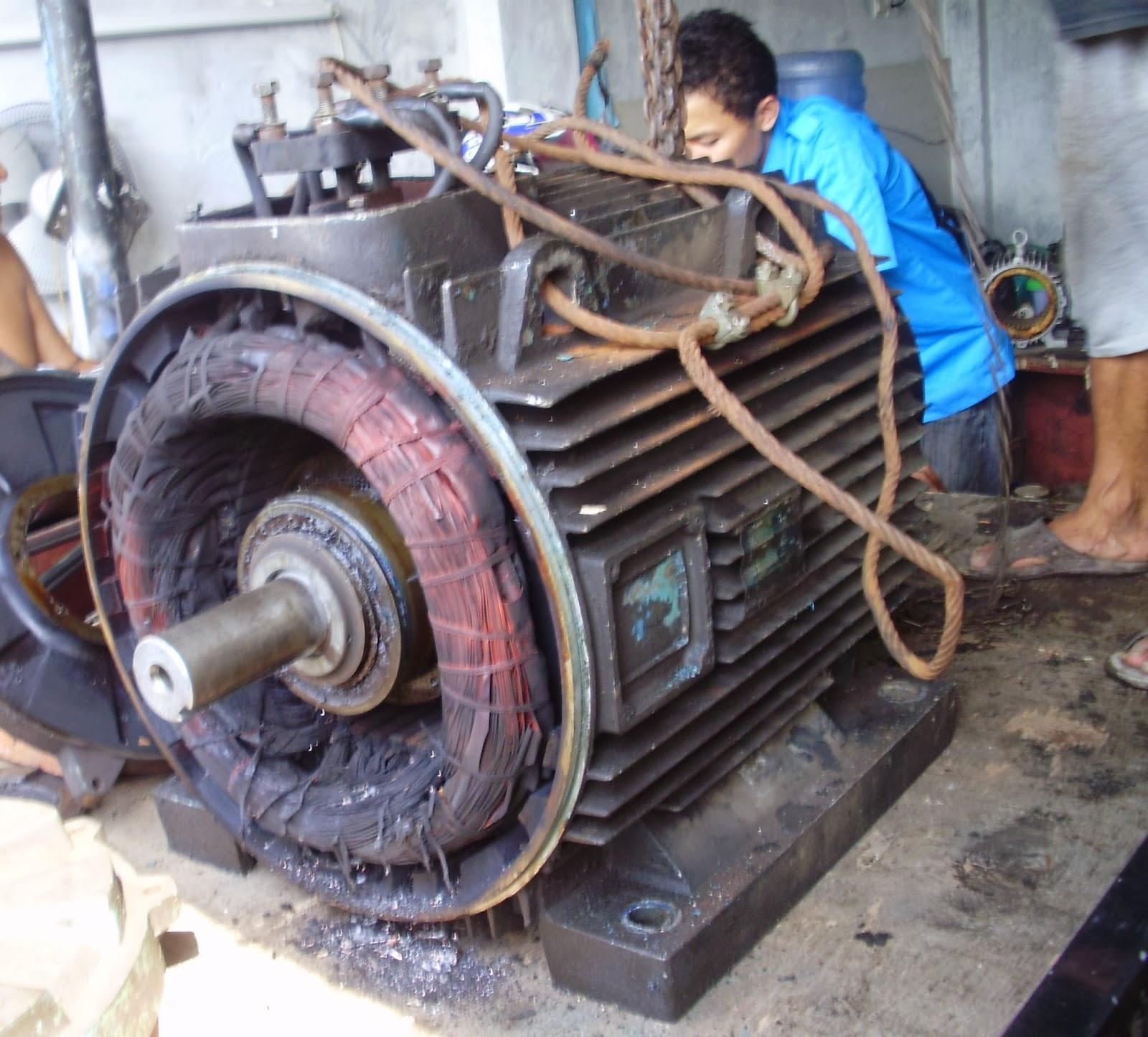 Cv Karang Teknik Repairing Rewinding Elektromotor