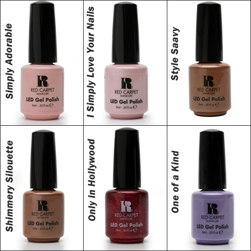 New Gel Colors From Red Carpet Manicure