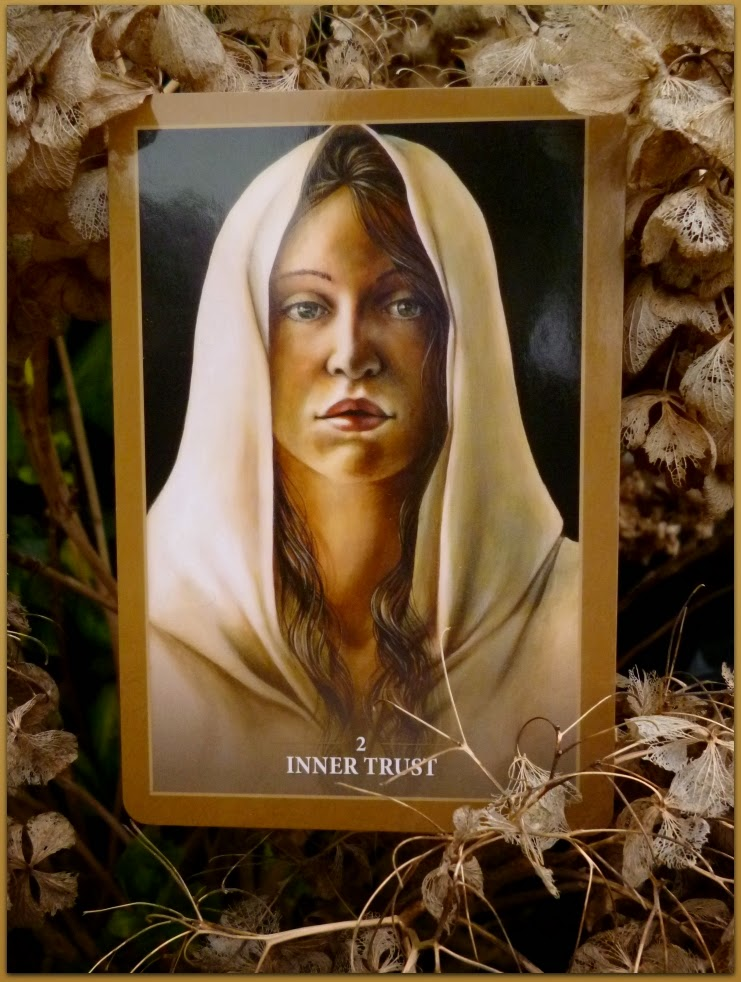 Sacred Rebels Oracle, 2 Inner Trust, Alana Fairchild