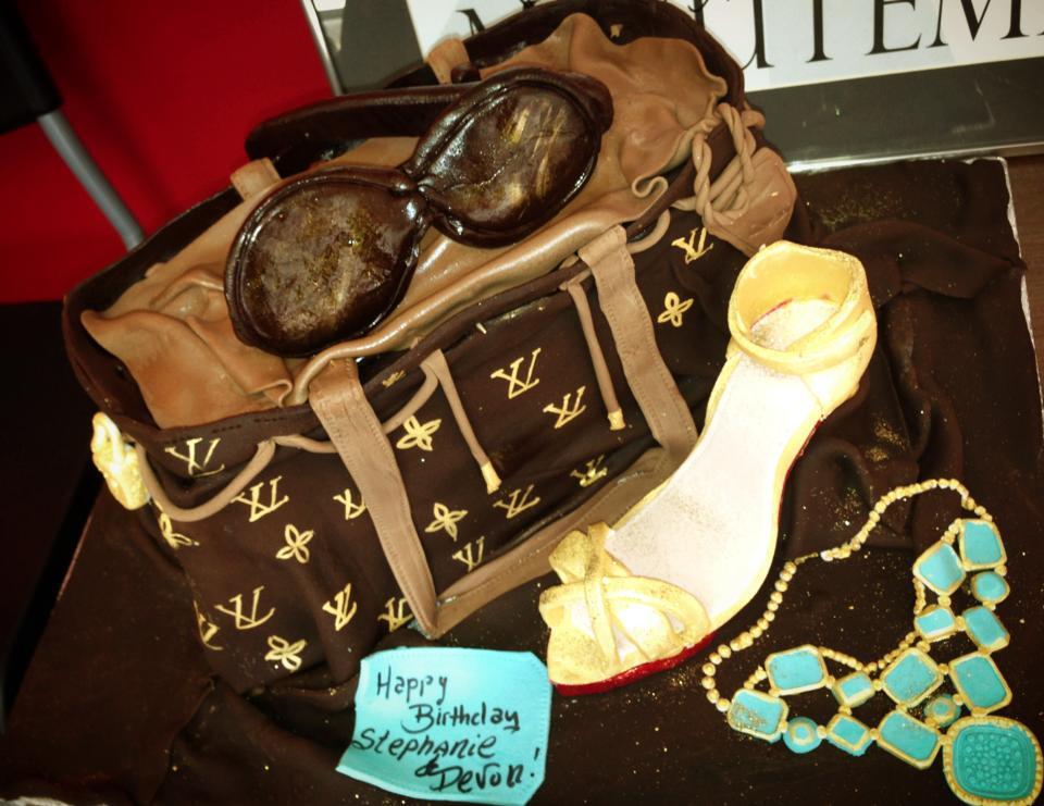Baking With Roxanas Cakes Birthday Cakes Fashion Louis Vuitton