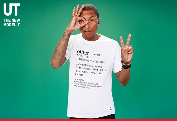 Pharrell Williams in Uniqlo - 'i am OTHER' Launch, New York City