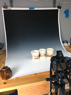 Light Box Setup by Lori Buff