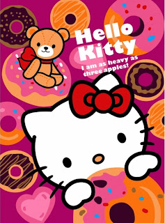 Selimut Rosanna Sutra Hello Kitty Cookies