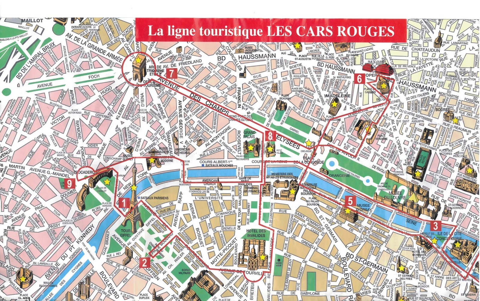 Paris Map Travel Diaries And Useful Tips