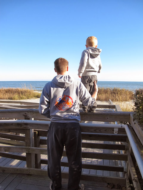 Seeing the Ocean with Daddy
