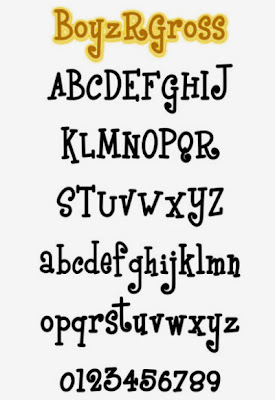 Graffiti Alphabet letter A-Z BoyzRGross