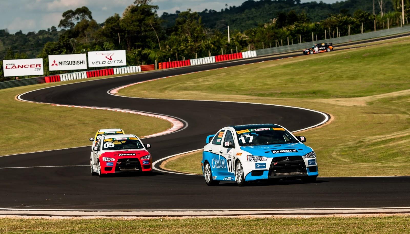 Lancer R e Lancer RS estarão juntos no grid