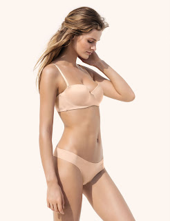 Edita Vilkeviciute for H&M Lingerie, March 2013
