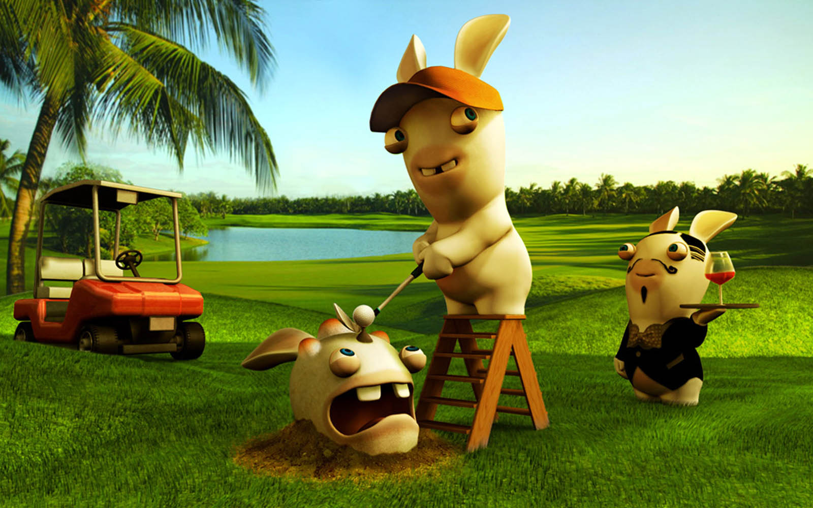 Wallpapers Funny Rayman Raving Rabbids Wallpapers