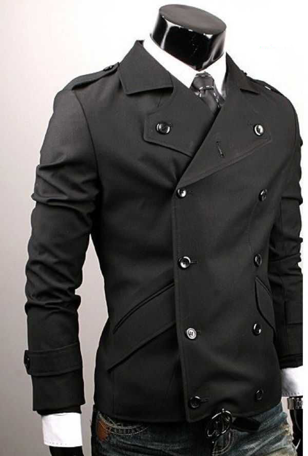 my fashion trendz doublebreasted casual suit jacket men