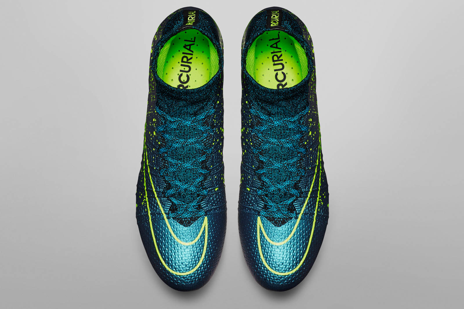 blaue nike mercurial superfly 2015 2016 fu ballschuhe. Black Bedroom Furniture Sets. Home Design Ideas