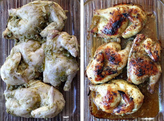 Tandoor-Style Grilled Chickens Or Cornish Hens Recipe — Dishmaps