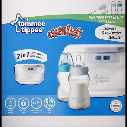 tommee tippee breast pump microwave steriliser instructions