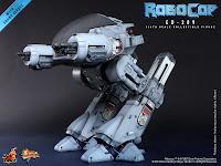 Hot Toys 1/6 Scale Robocop MMS Diecast ED-209 Figure