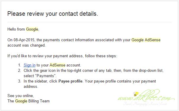 Lulus Google Adsense Di Blog Bahasa Melayu