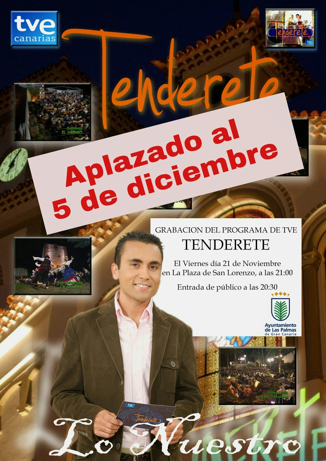Aplazado Tenderete en San Lorenzo