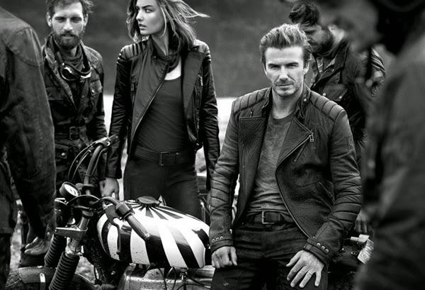 chaquetas moteras Beckham for Belstaff