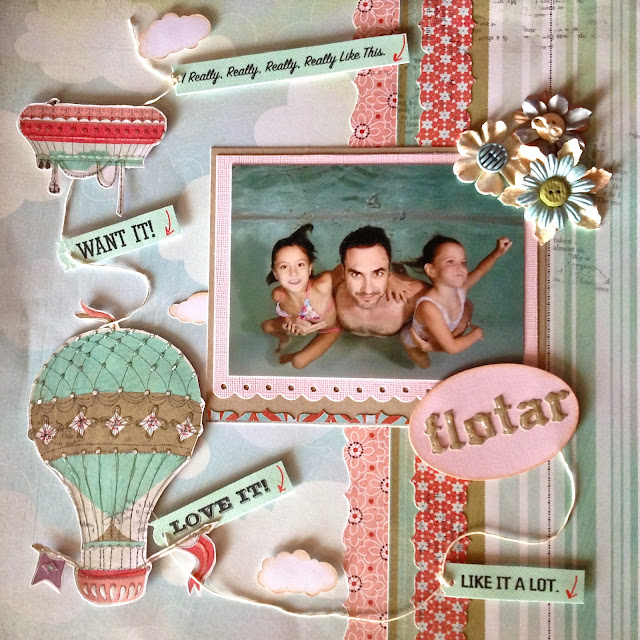 Layout scrap frontal