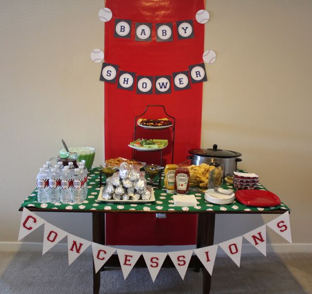 Sew In Love: Baseball Baby Shower