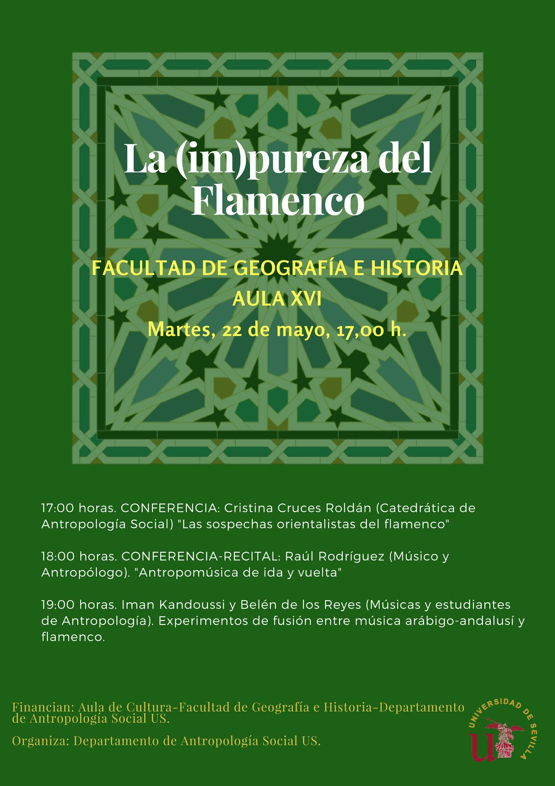 CONFERENCIAS SOBRE FLAMENCO