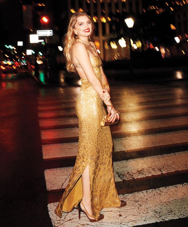 Amore Beauty Fashion: AMORE (Beauty + Fashion): Glamorous Lily Donaldson