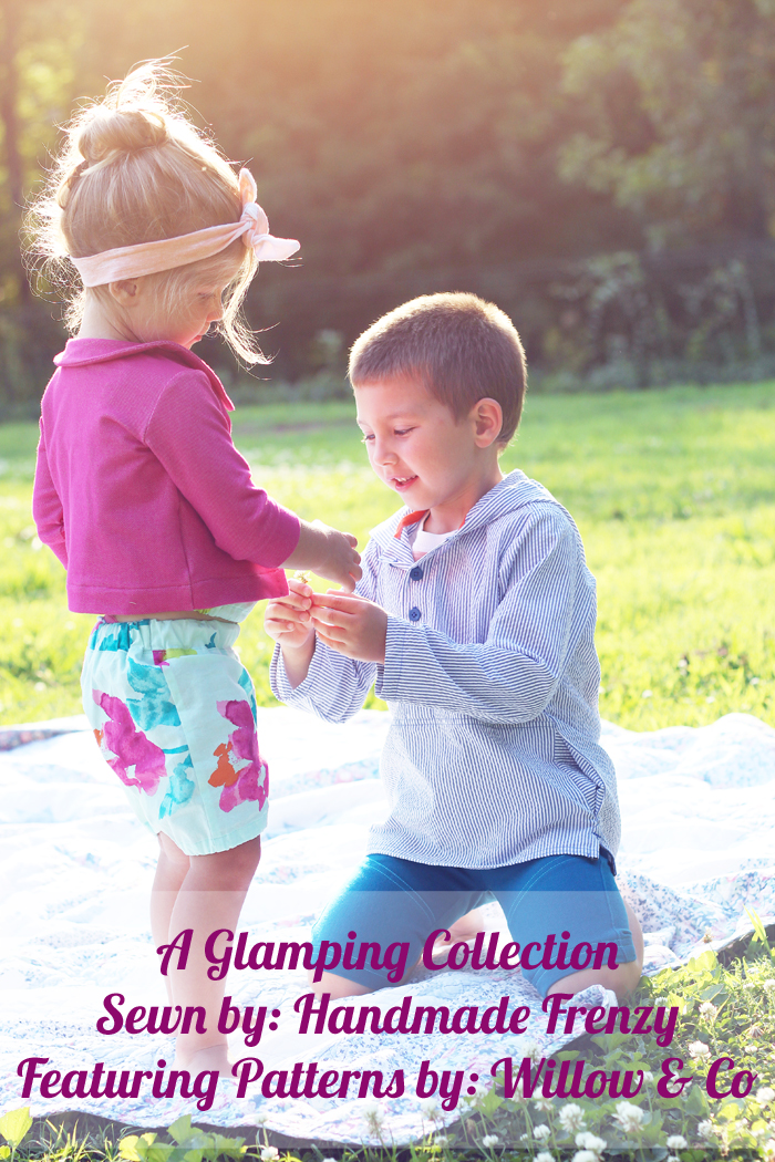 Glamping Collection - Willow & Co Patterns, Ash Jumpsuit, Aster Cardigan, Kudzu Cargos, Mulberry Tunic