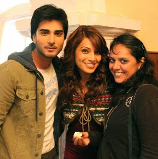 Bipasha Basu on the sets of Creature