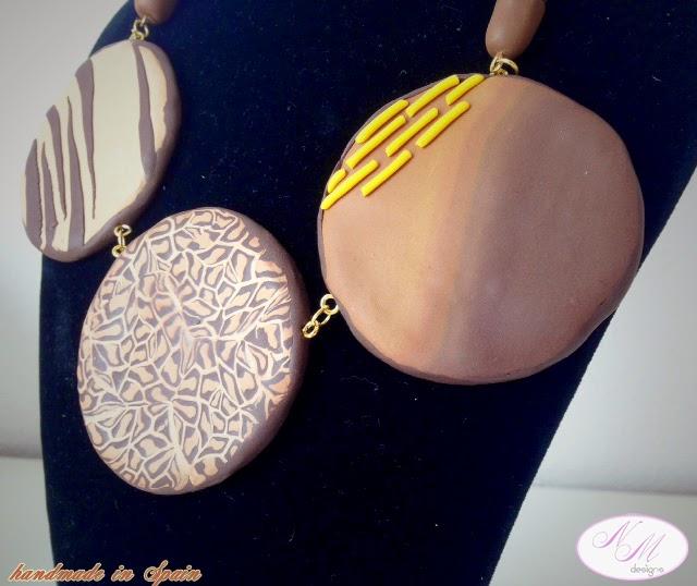 "Collar/Necklace ""Africa"""