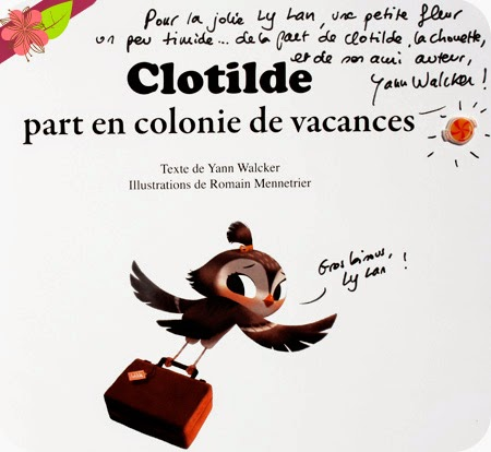 """Clotilde part en colonie de vacances"" de Yann Walcker et Romain Mennetrier"