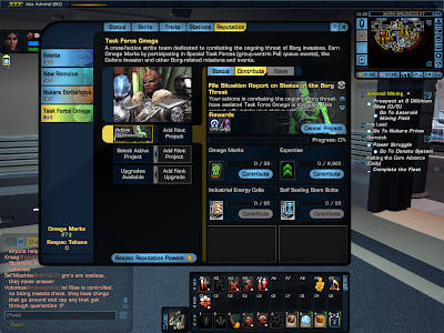 Star Trek Online - Reputation Projects