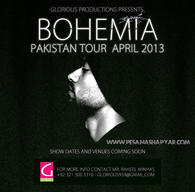 bohemia the punjabi rapper live in pakistan tour april 2013 videos