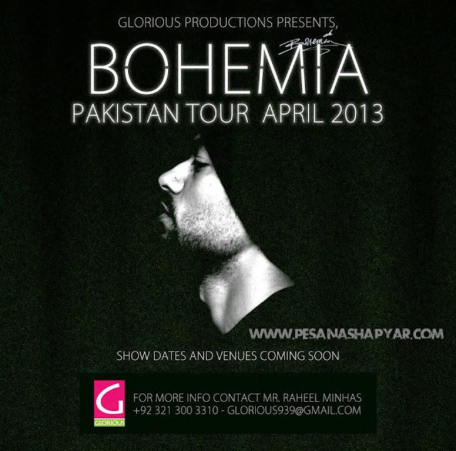 bohemia the punjabi rapper live in pakistan tour april 2013 videos