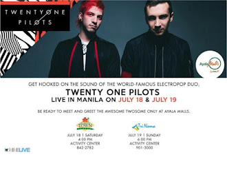 Twenty One Pilots Live at Ayala Malls