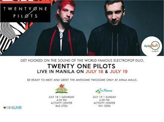 Twenty One Pilots Live at Ayala Malls