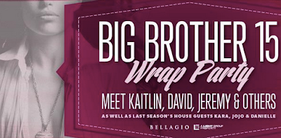 Big Brother 15 Wrap Party Vegas 2013