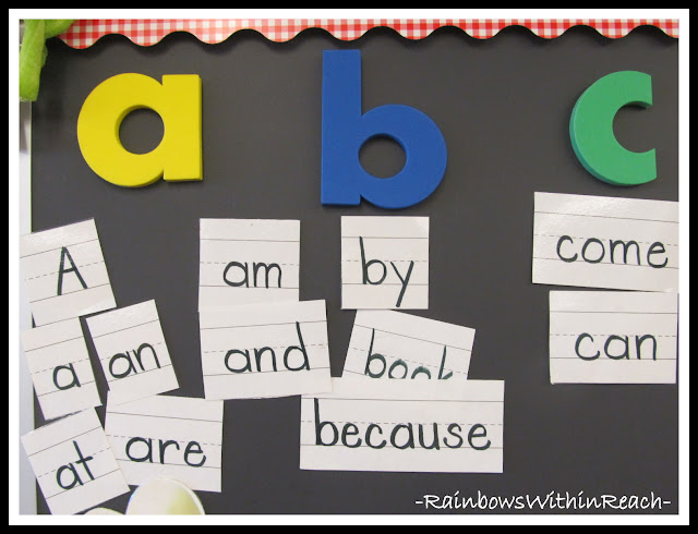 photo of: Kindergarten Word Wall 