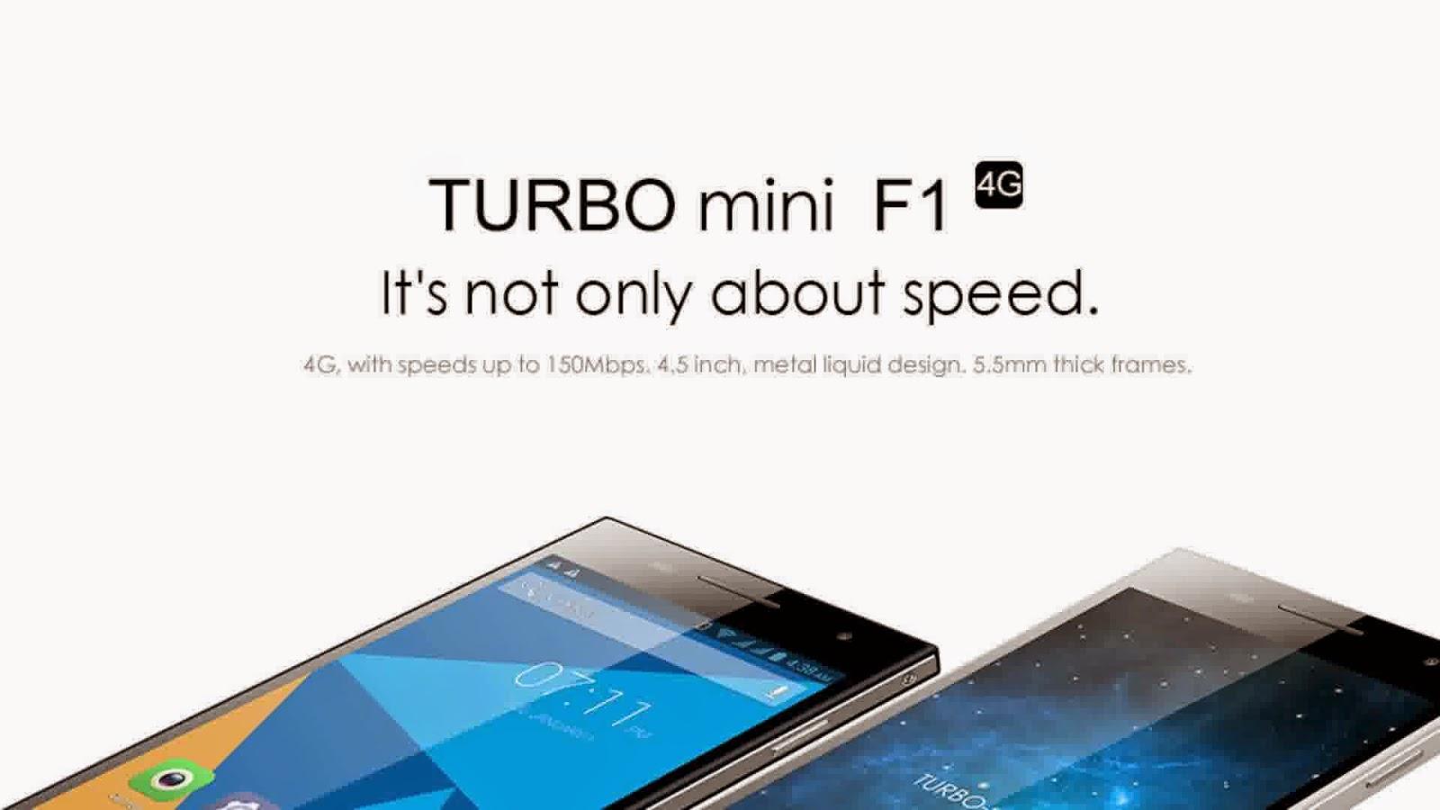 Doogee Turbo Mini F1, Spesifikasi HP Prosesor Quad Core 64-bit Harga Murah