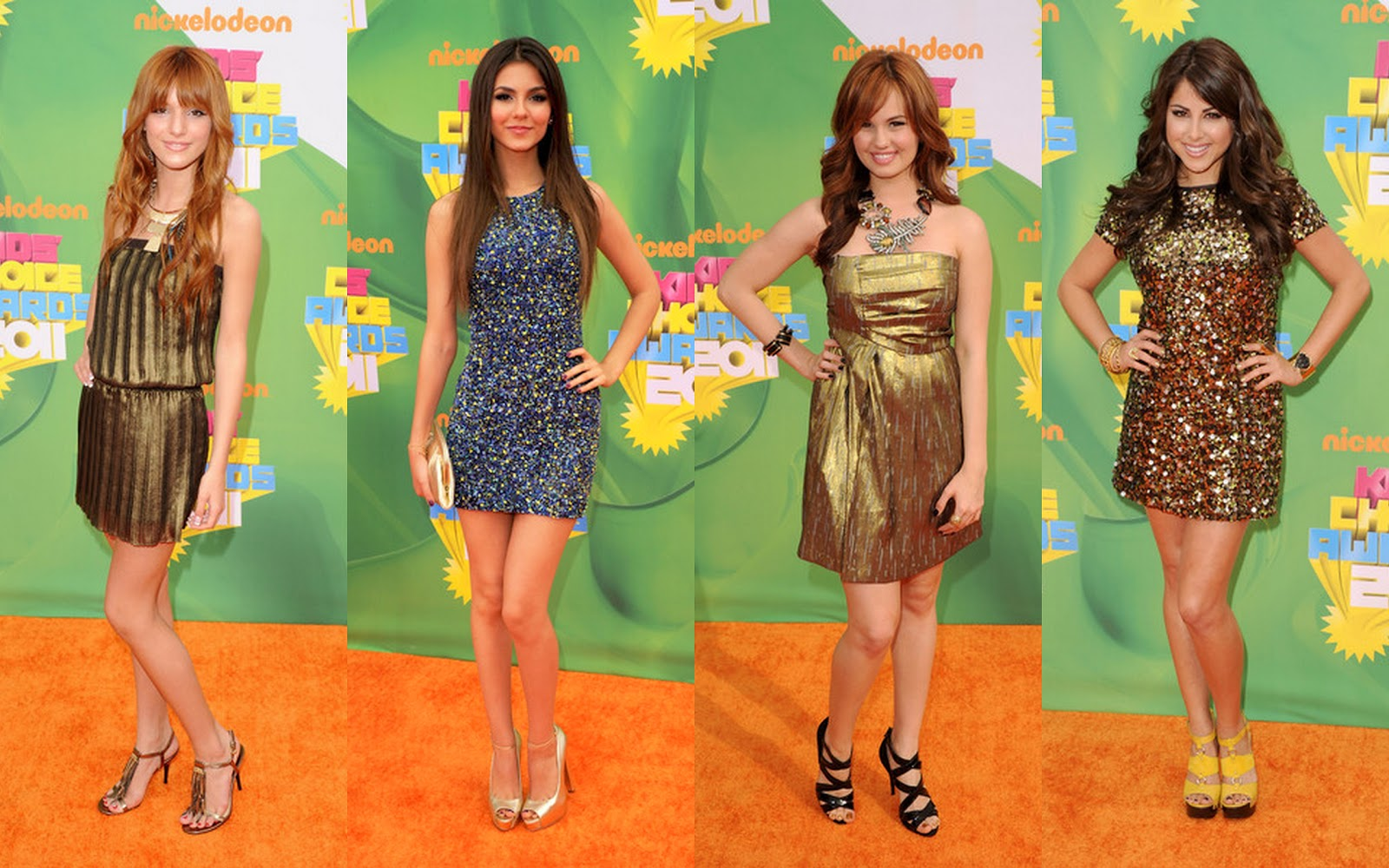 Victoria Justice 2011 Kids Choice Awards