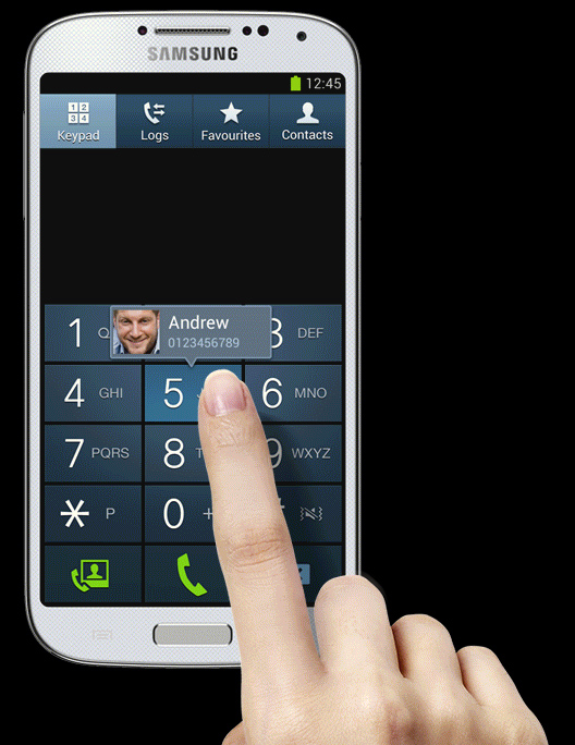 how to add the clipboard icon to a samsung s4