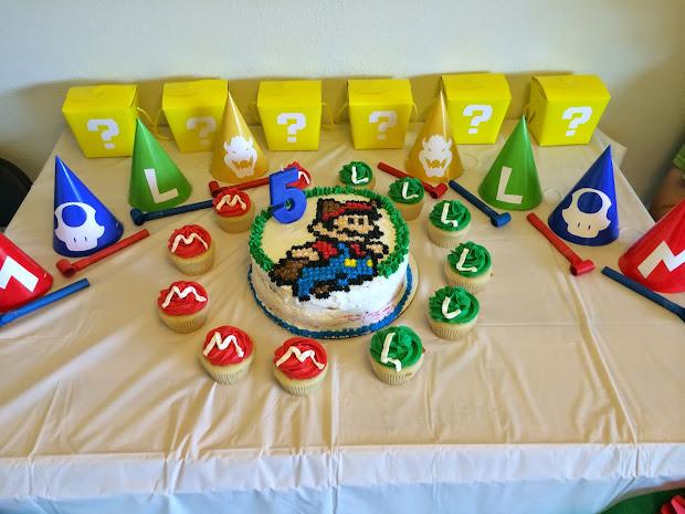 Super Mario Birthday Cakes Walmart