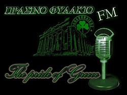 ΠΡΑΣΙΝΟ ΦΥΛΑΚΙΟ FM